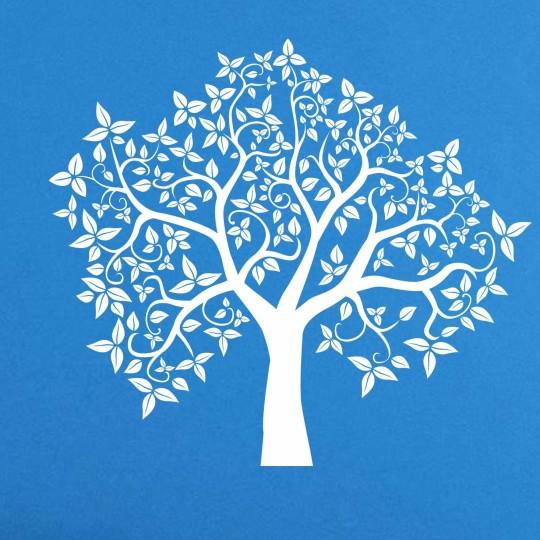 Трафарет наклейка дерево купить