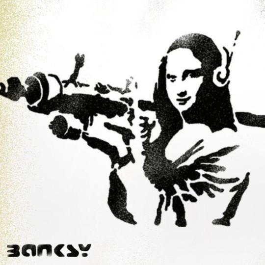 трафарет Мона Лищы купить в нашем интернет магазине Stencer