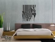 Трафарет, зебра, купить в украине